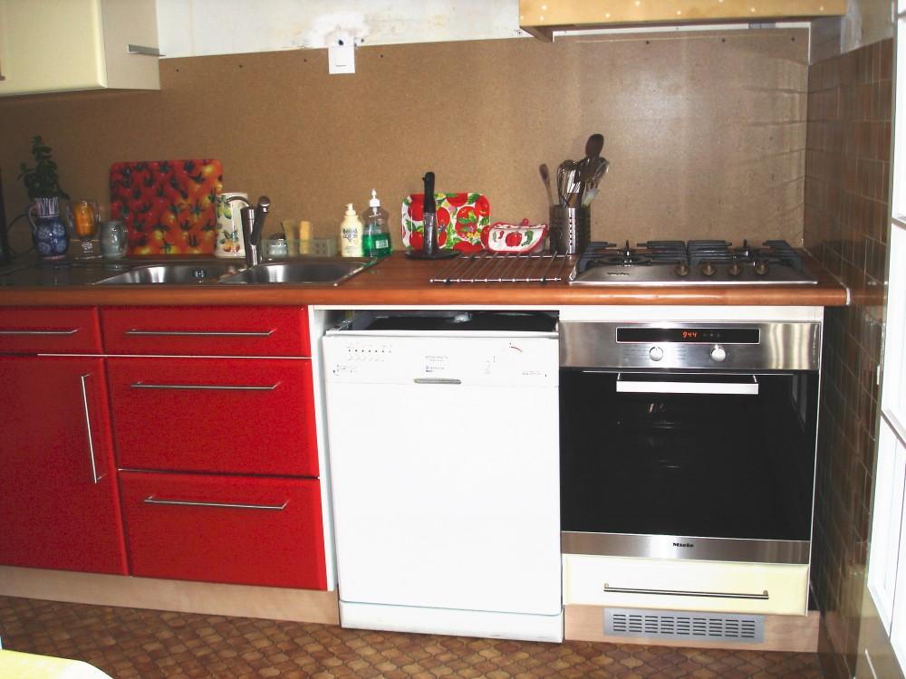 Cuisine laque beige cuisine ikea beige laque 13 orleans - Cuisine rouge laque ...