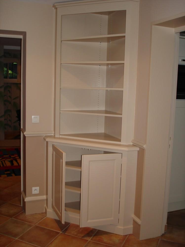 Cr ation de meubles tv et biblioth ques sur mesure b2a for Meuble tv a peindre