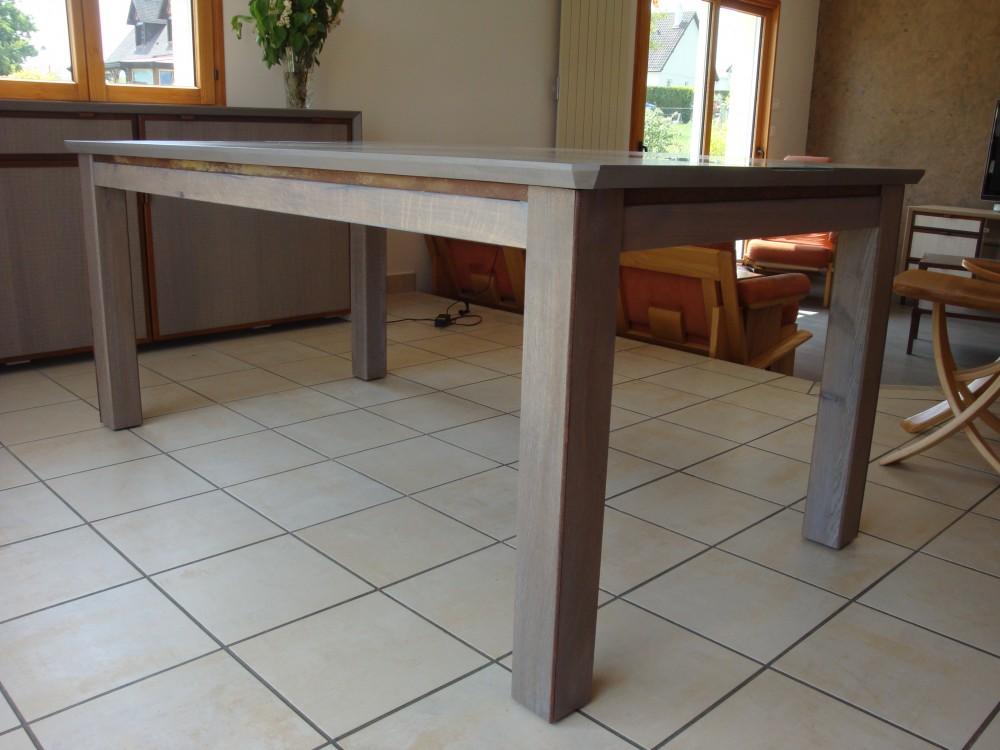 table plateau zinc table basse style louis xv patine gris perl plateau gris en zinc with table. Black Bedroom Furniture Sets. Home Design Ideas